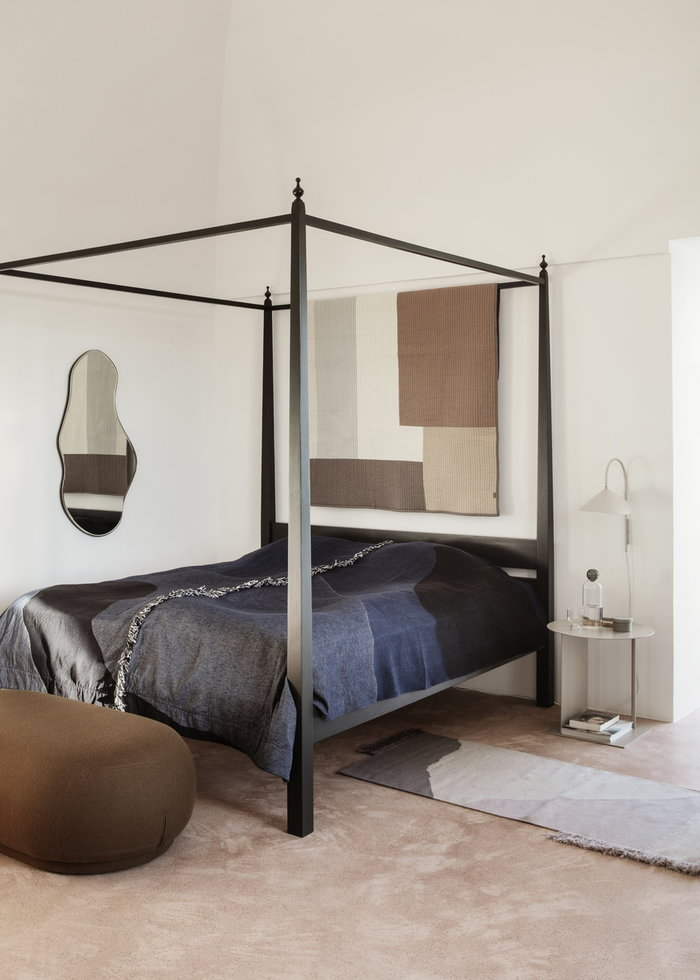 Bedroom Ferm Living Multi colour Black Beige Blue Wool Glass Steel