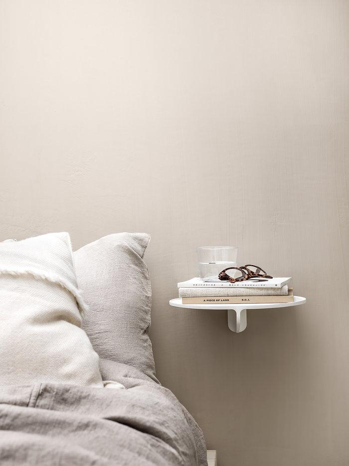 Makuuhuone String Furniture Valkoinen Alumiini