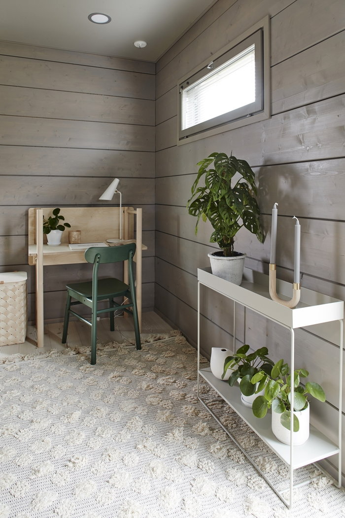 Puntilavoro Gestionespazio  Ferm Living Made by Choice Verso Design Grigio Naturale Metallo Betulla Plant Box Lastu