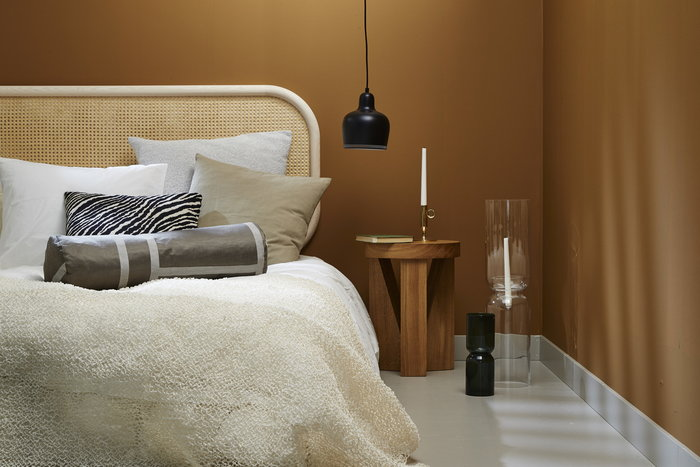 Bedroom  Autumn Artek Iittala Johanna Gullichsen Mattiazzi Matri Skultuna Tekla &Tradition Woodnotes Black Clear Grey Nature Brass White Beige Metal Glass Linen Oak Ash Cotton Plastic Paper Aalto lightning ABC-collection Lantern