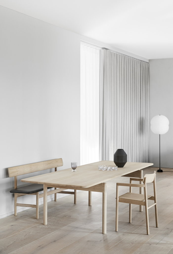 Diningroom Fredericia Nature Black Oak Brass