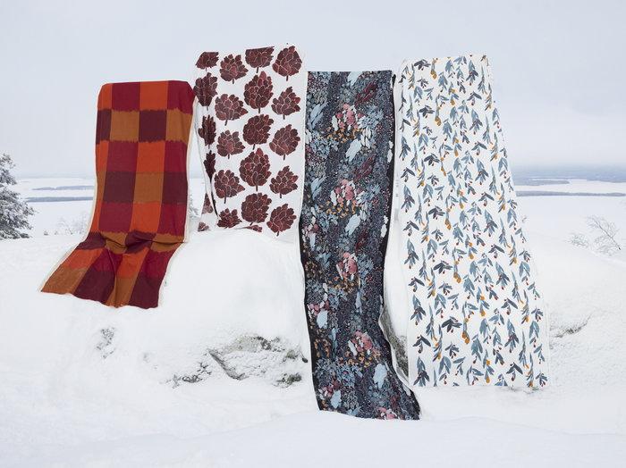 Holidays Marimekko Red Multi colour Cotton