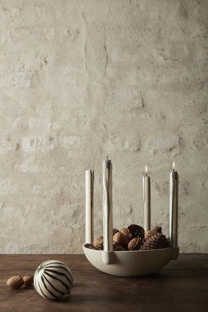 Holidays Ferm Living White Ceramic