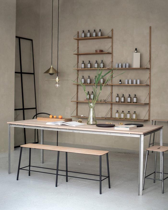Diningroom Frama Black Steel
