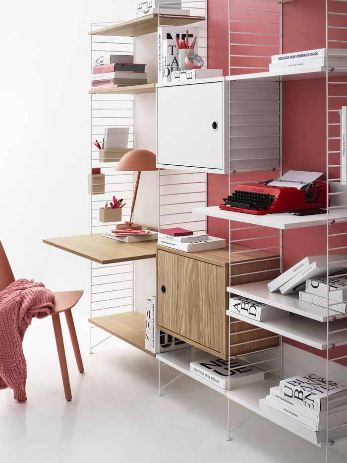 Office String Furniture White Grey Nature Wood