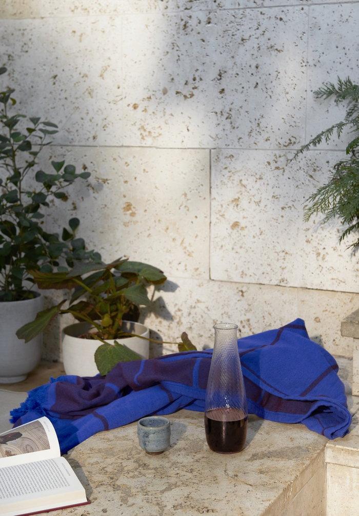 Viherkasvit Terassi &Tradition Sininen Harmaa Puuvilla Muovi