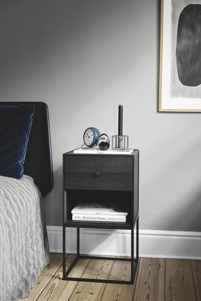 Bedroom By Lassen Black Wood
