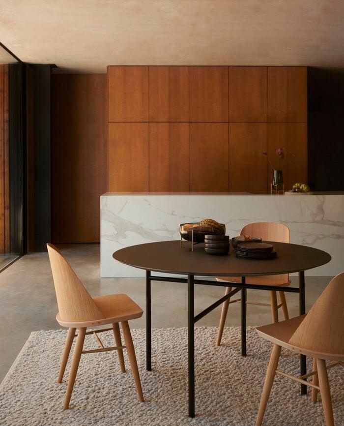 Diningroom Menu Black Grey Wood Glass