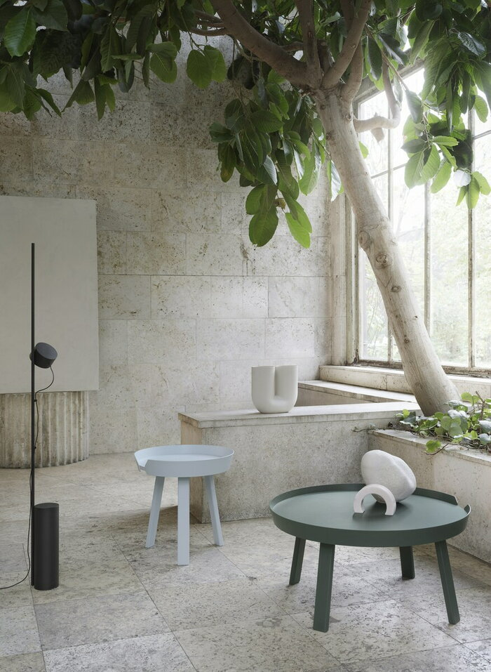 Summer Muuto Beige Blue Ceramic Wood