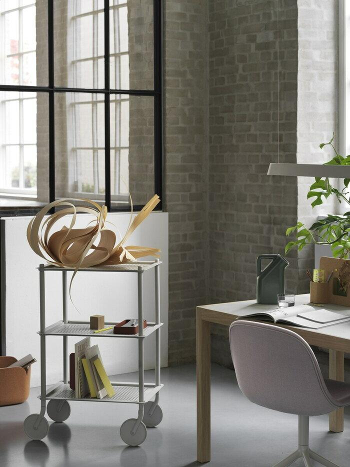Office Muuto Green Nature Grey Ceramic Cork Oak