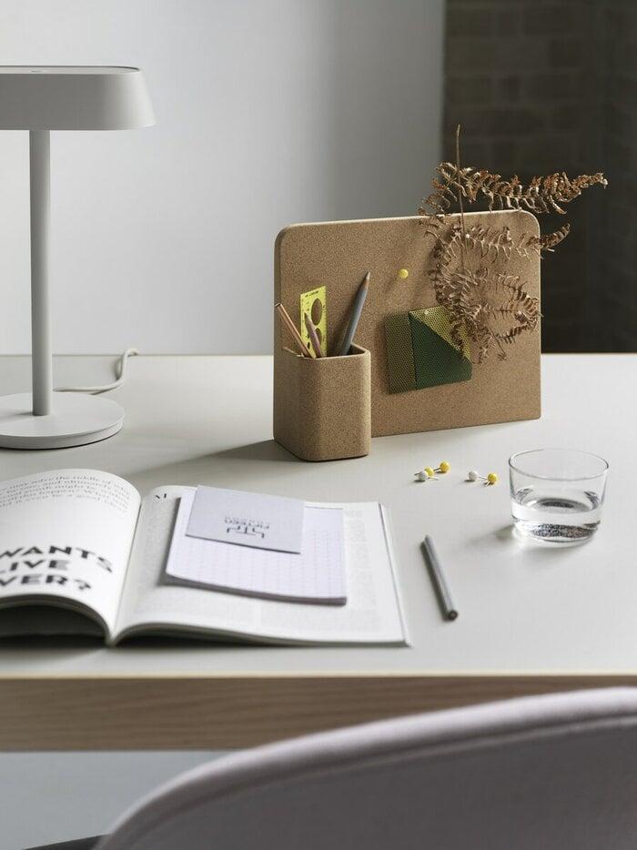Office Muuto Nature Grey Cork Aluminium