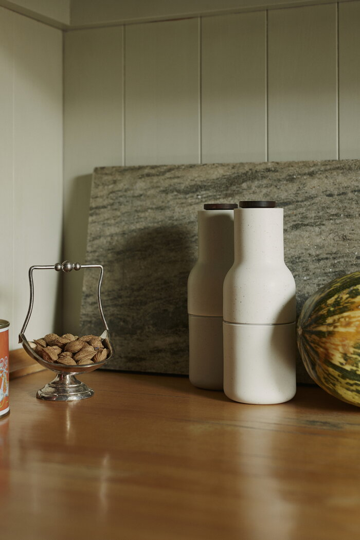 Kitchen Menu Beige Ceramic