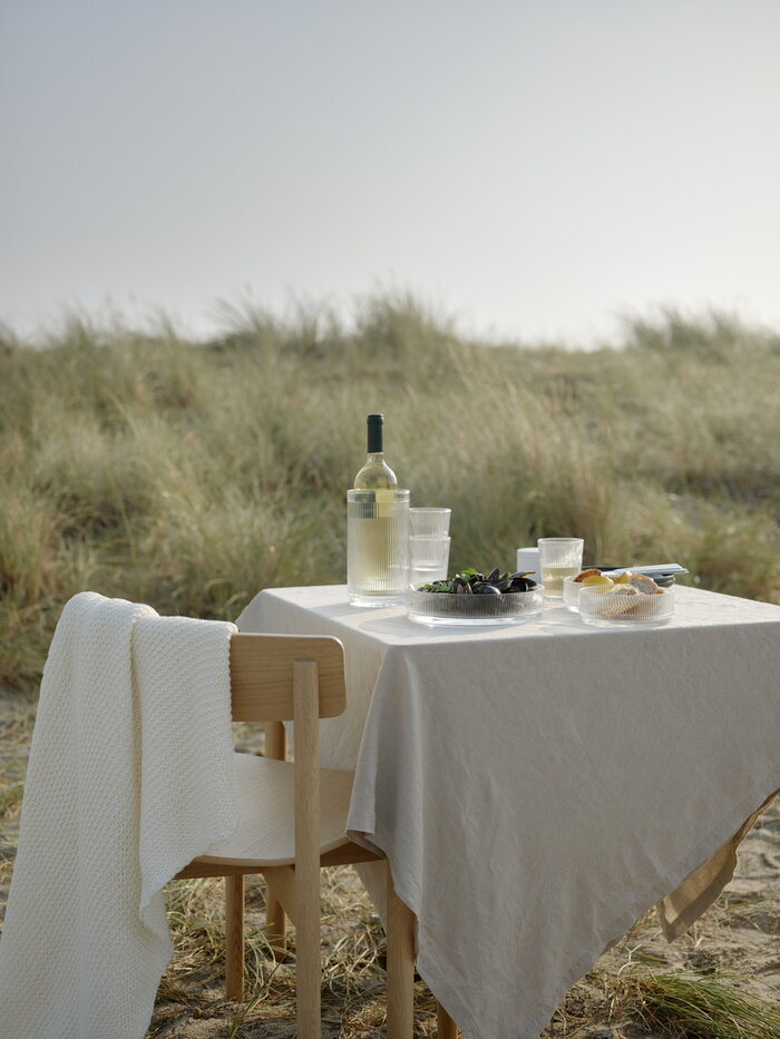 Tablesetting Summer Stelton Clear Glass