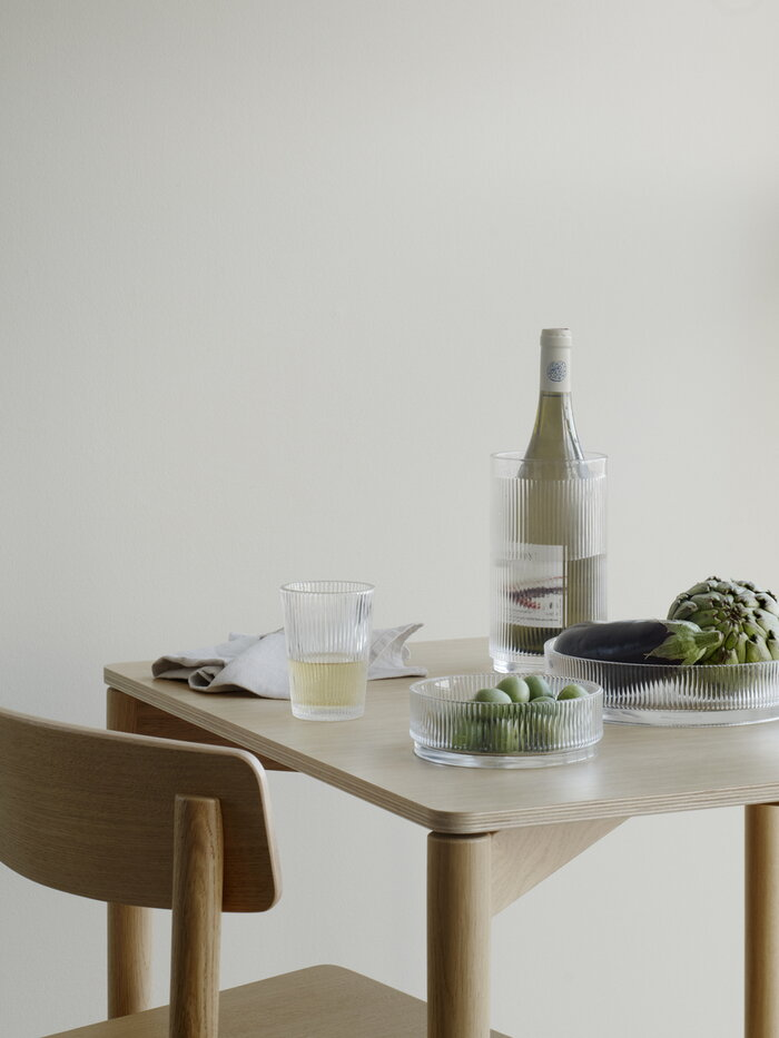 Tablesetting Stelton Clear Glass