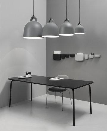 Työpisteet Normann Copenhagen Harmaa Musta Muovi Alumiini Puu Pocket Bell