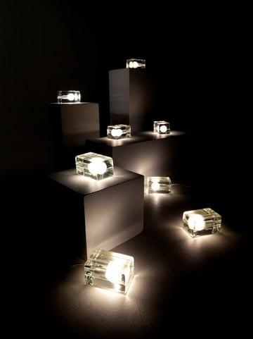 Sisustusideat Design House Stockholm Kirkas Lasi Block Lamp