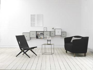 Olohuoneet By Lassen Musta Valkoinen Vihreä Messinki Kubus View Frame Twin Saxe