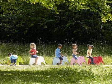 Lastenhuoneet Vitra Vaaleanpunainen Valkoinen Turkoosi Muovi Elephant