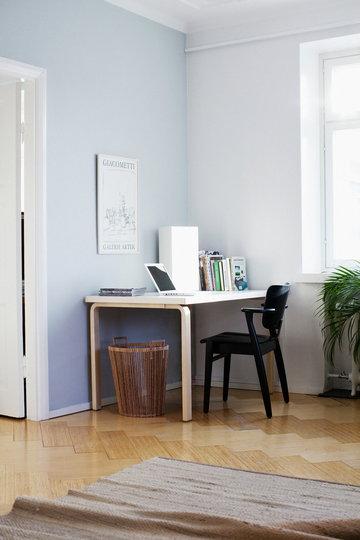 Työpisteet Artek Luonnonväri Musta Harmaa Koivu Aalto pöydät Tapiovaara Domus