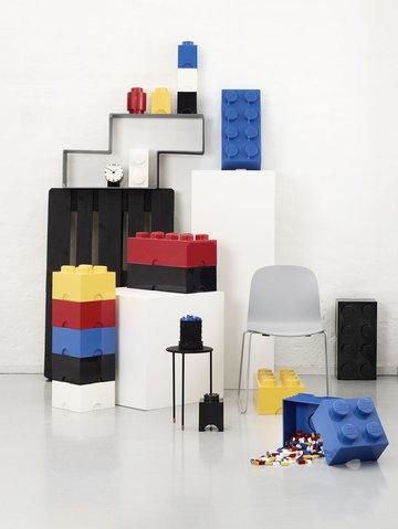 Lastenhuoneet Säilytys Room Copenhagen Muuto Punainen Sininen Keltainen Musta Valkoinen Harmaa Muovi Saarni Lego Visu