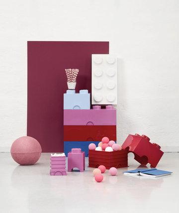 Gestionespazio Room Copenhagen Rosso Blu Bianco Rosa Plastica Lego