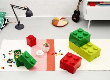 Stanzadeibambini Room Copenhagen Rosso Verde Bianco Plastica Lego