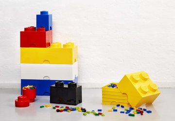 Stanzadeibambini Gestionespazio Room Copenhagen Rosso Giallo Blu Bianco Plastica Lego