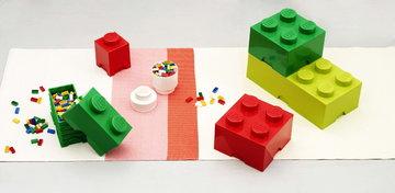 Stanzadeibambini Gestionespazio Room Copenhagen Rosso Verde Bianco Plastica Lego
