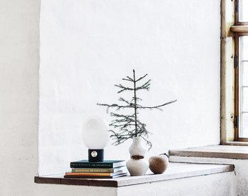 Joulu Sisustusyksityiskohta Design House Stockholm Hem Menu Valkoinen Luonnonväri Keramiikka Korkki Betoni