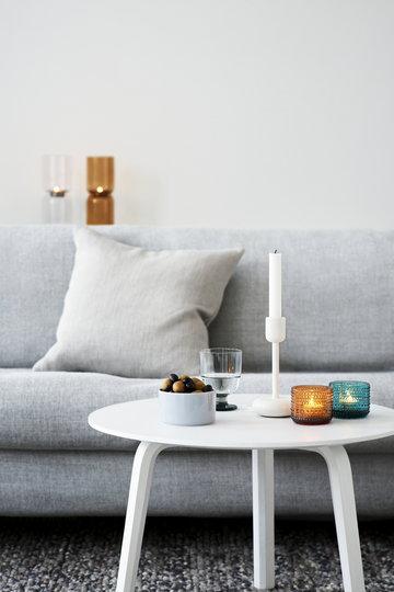 Olohuoneet Kynttilät Iittala Valkoinen Kirkas Kupari Ruskea Tammi Lasi Teräs Bella Lantern Kastehelmi Nappula