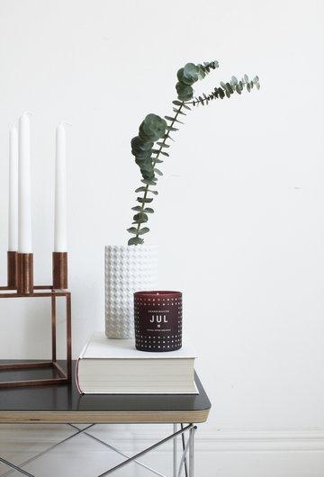Joulu Sisustusyksityiskohta Kynttilät Vitra By Lassen Skandinavisk Musta Kupari Punainen Teräs Lasi Kubus