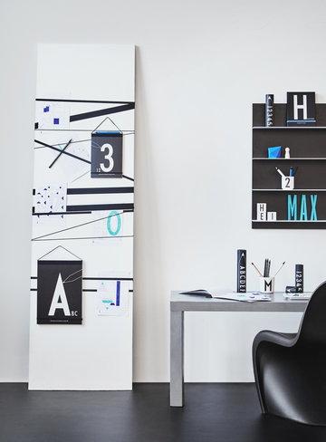 Työpisteet Vitra Design Letters Valkoinen Musta Muovi Puu Keramiikka Panton AJ puukirjaimet AJ keittiö