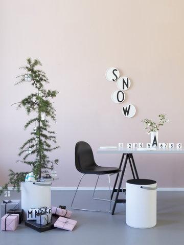 Viherkasvit Joulu Design Letters Musta Valkoinen Keramiikka AJ keittiö
