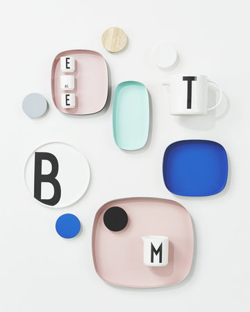 Kattaus Design Letters Musta Valkoinen Keramiikka AJ keittiö