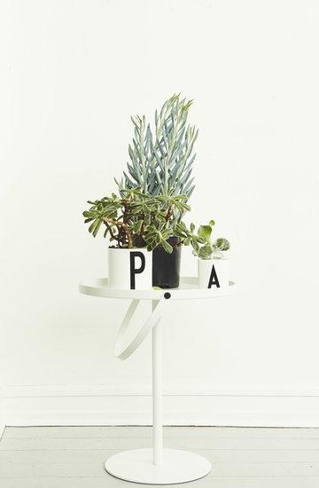 Viherkasvit Design Letters Musta Valkoinen Keramiikka AJ keittiö