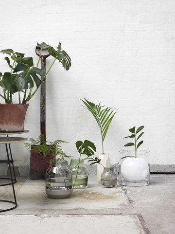 Piante Dettaglioarredamento Casa estiva Muuto Bianco Marrone Grigio Verde Nero Vetro Ceramica Metallo Fourways Silent Elevated Airy