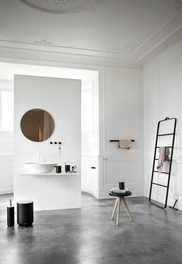 Kylpyhuone Menu Harmaa Musta Teräs Ruostumaton teräs Alumiini Saarni