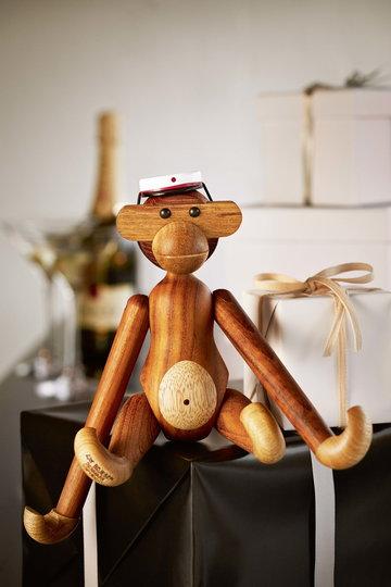 Dettaglioarredamento Kay Bojesen Bianco Naturale Legno Tek Oggetti in legno