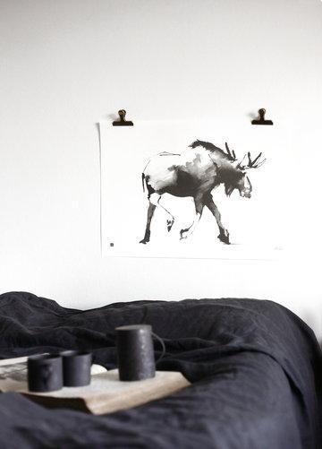 Makuuhuone Julisteet Teemu Järvi Illustrations Musta Paperi