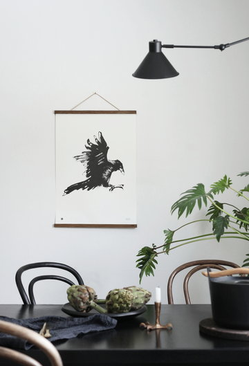 Viherkasvit Ruokailutilat Julisteet Teemu Järvi Illustrations Musta Metalli