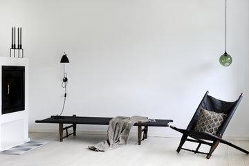 Olohuoneet Takka Talvi By Lassen Skovshoved Møbelfabrik Musta Puu Kubus