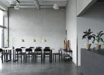 Ruokailutilat Muuto Musta Vihreä Tammi Alumiini 70/70 Ambit