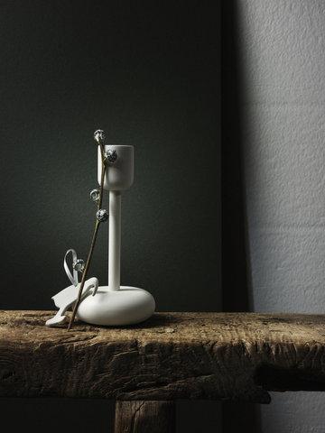 Joulu Kynttilät Talvi Iittala Valkoinen Teräs Nappula