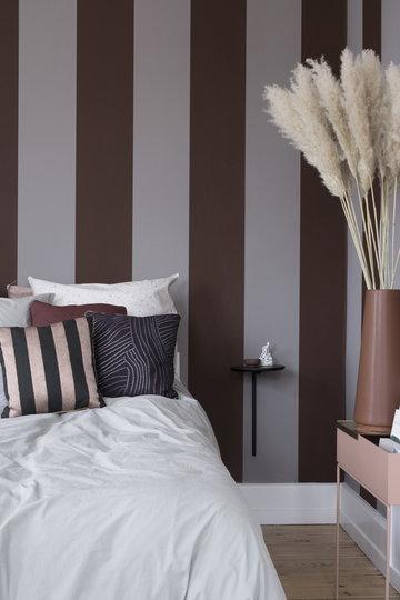 Makuuhuone Ferm Living Vaaleanpunainen Musta Metalli Plant Box