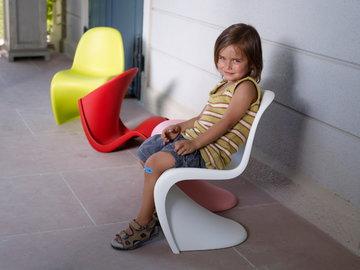 Lastenhuoneet Vitra Valkoinen Vaaleanpunainen Sininen Muovi Panton
