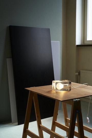 Työpisteet Design House Stockholm Kirkas Lasi Block Lamp