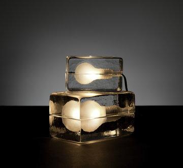 Sisustusyksityiskohta Design House Stockholm Kirkas Lasi Block Lamp
