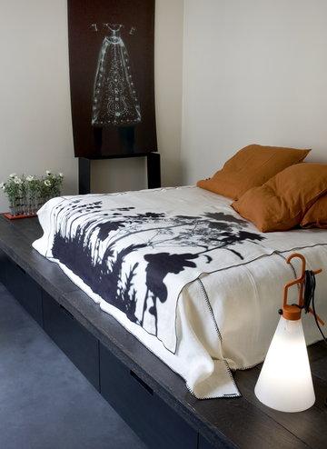 Makuuhuone Flos Oranssi Muovi