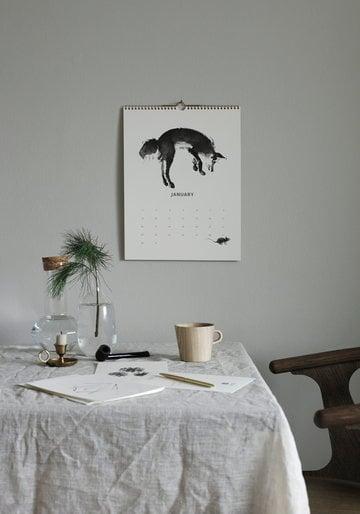 Kattaus Kalenterit Talvi Teemu Järvi Illustrations Valkoinen Paperi
