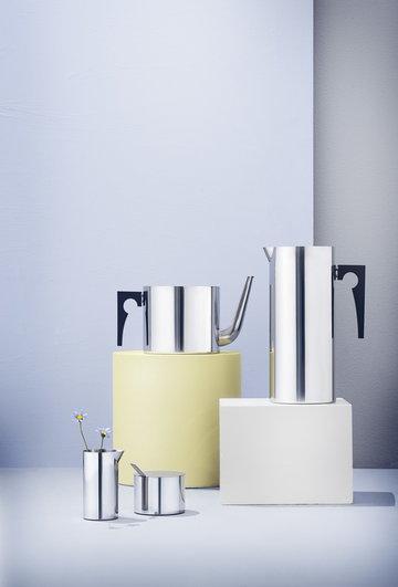 Kattaus Teehetki Stelton Metalli Ruostumaton teräs Stelton Arne Jacobsen